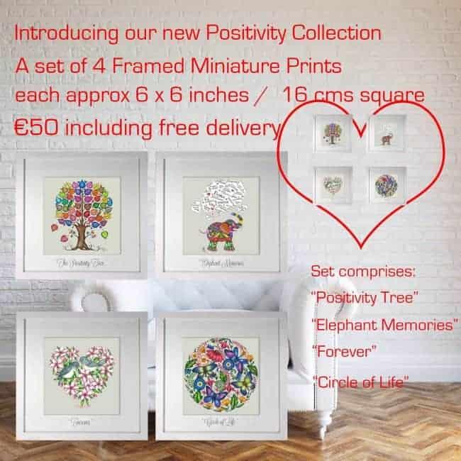 4 Classic Mini Framed Prints Belinda Northcote Designs